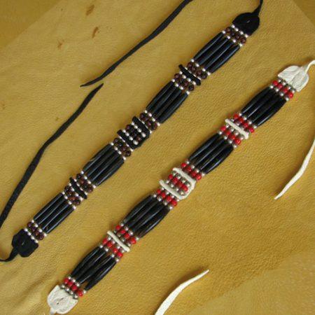 Four Strand Choker - Horn or Bone
