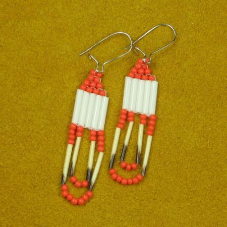 Quill & Bead Earrings