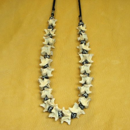bone bead necklace goods discovered tibetan